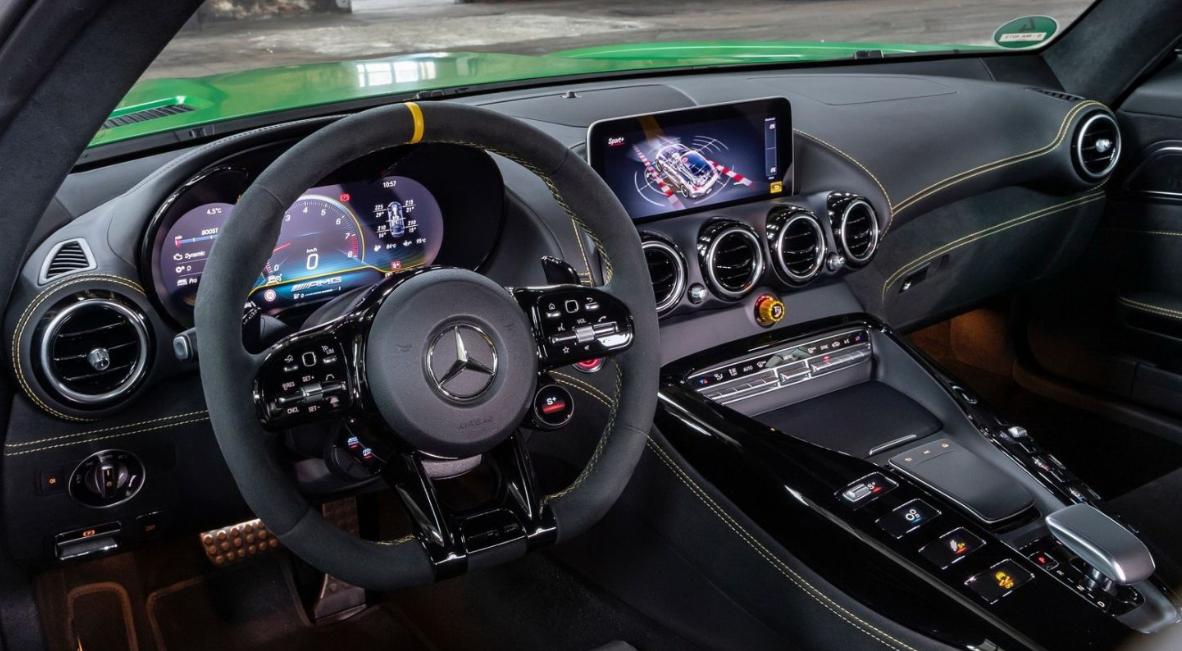 2022 Mercedes AMG GT Interior