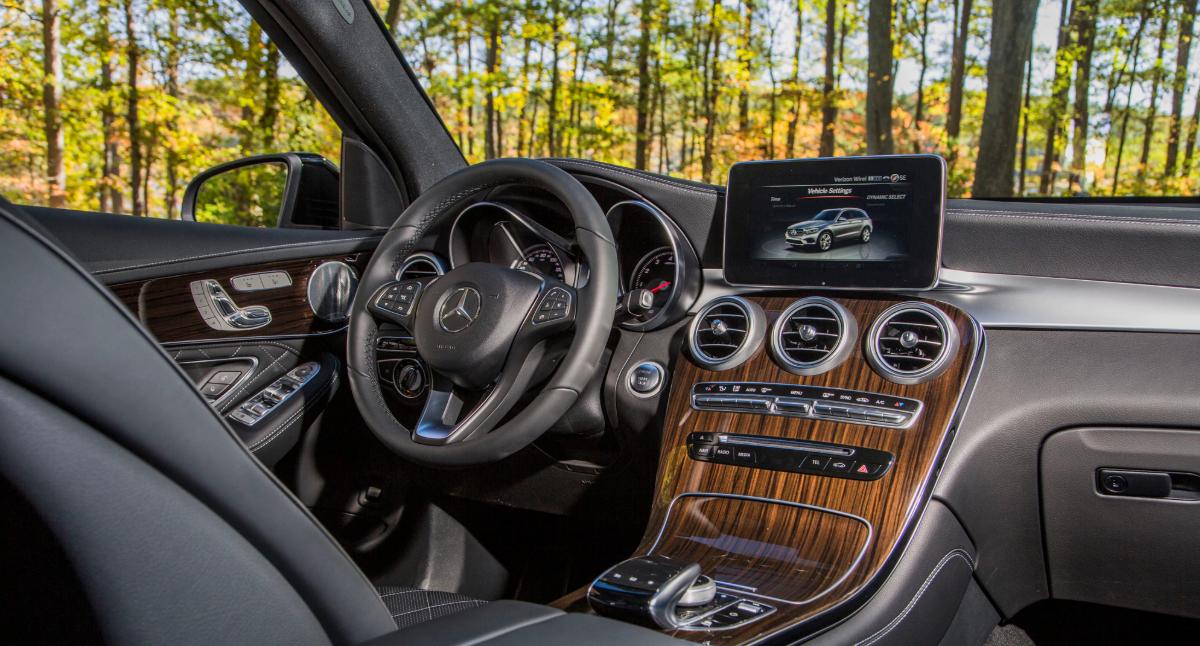 2022 Mercedes Benz GLC Interior