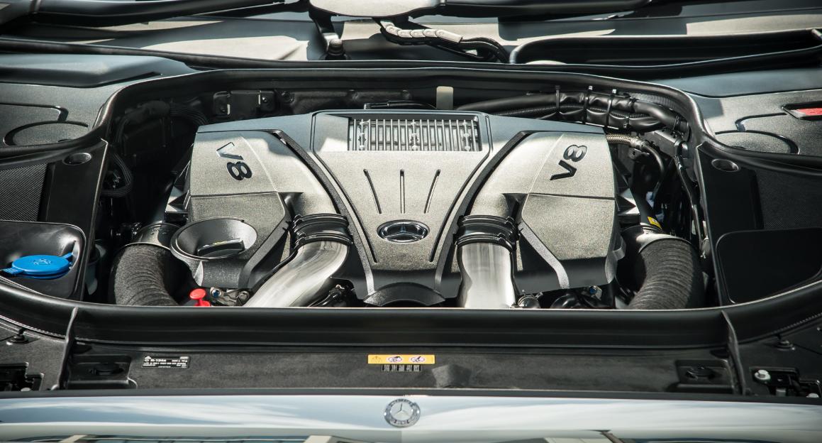 2022 Mercedes Benz S Class Engine