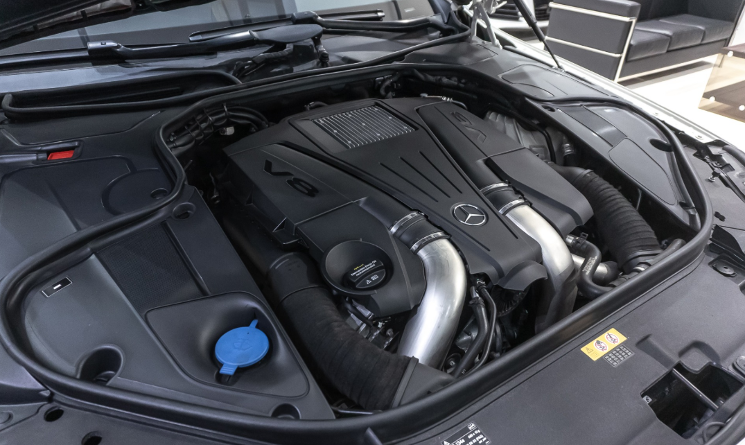 2022 Mercedes Benz S550 Engine