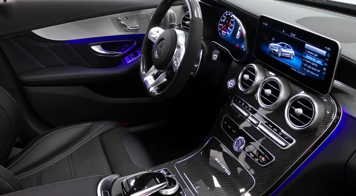 2022 Mercedes C Class Interior