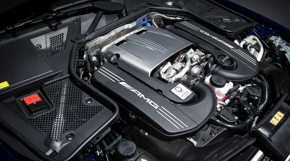 2022 Mercedes C63 AMG Engine