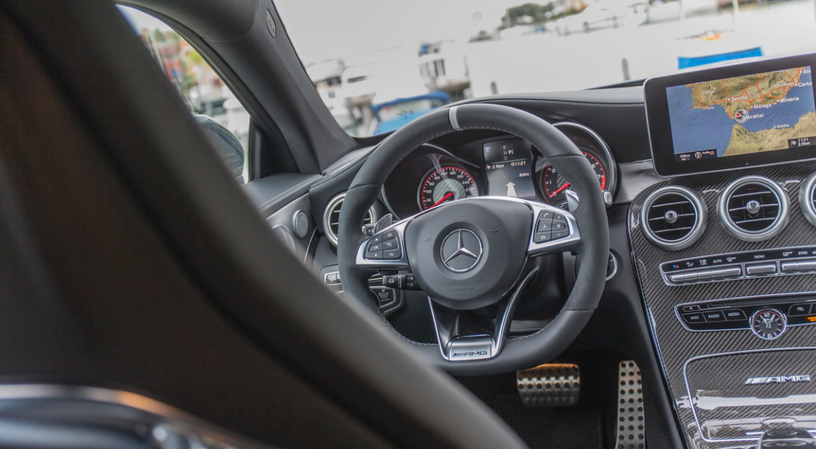 2022 Mercedes C63 AMG Interior