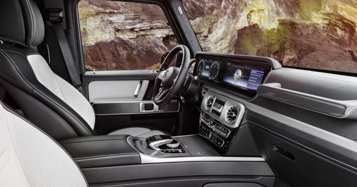 2022 Mercedes G Wagon Interior
