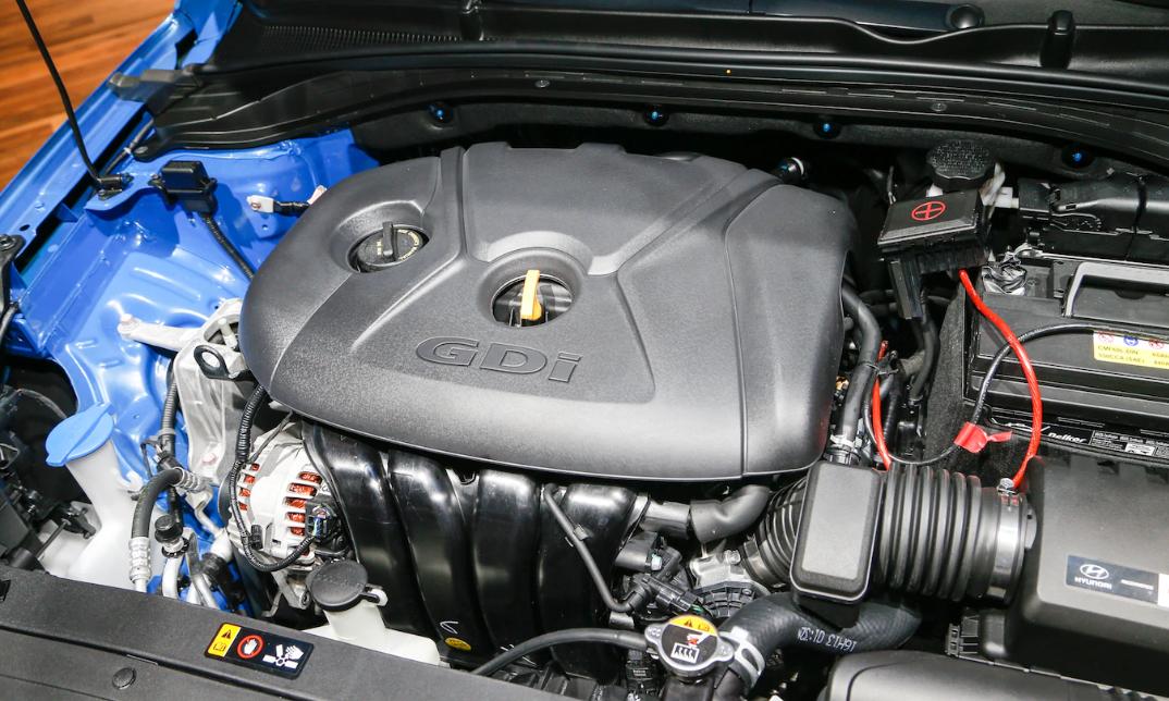 2023 Hyundai Elantra Engine