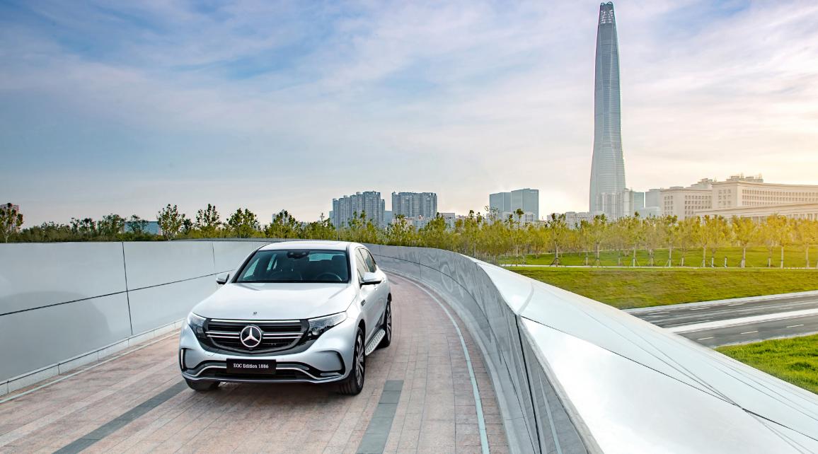 2023 Mercedes Benz EQC Exterior