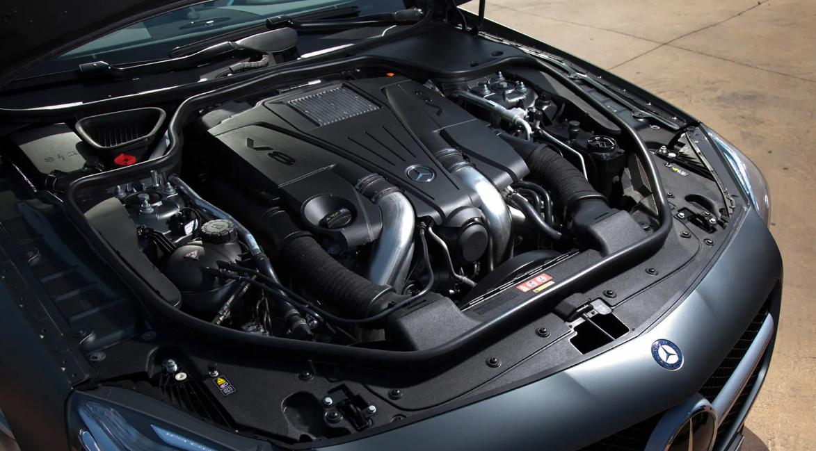 2023 Mercedes SL Engine