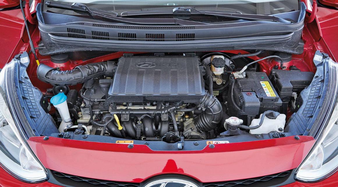 Hyundai I10 2022 Engine