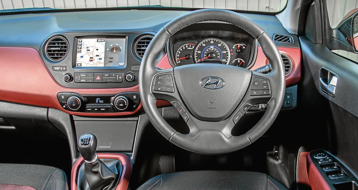 Hyundai I10 2022 Interior
