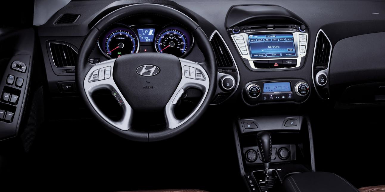 Hyundai Tucson 2023 Interior