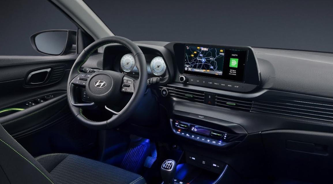 Hyundai i20 2022 Interior