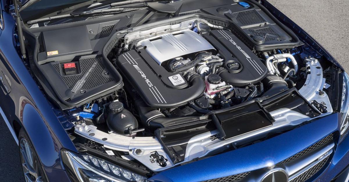 Mercedes AMG 2023 Engine