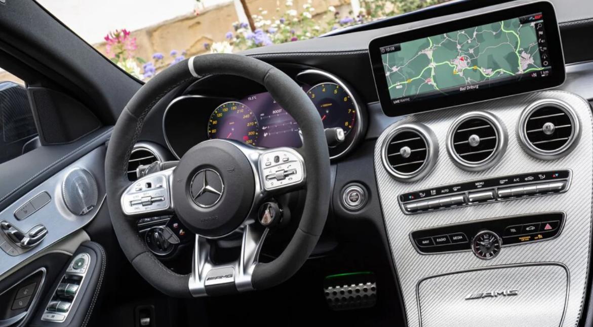 Mercedes C 2022 Interior