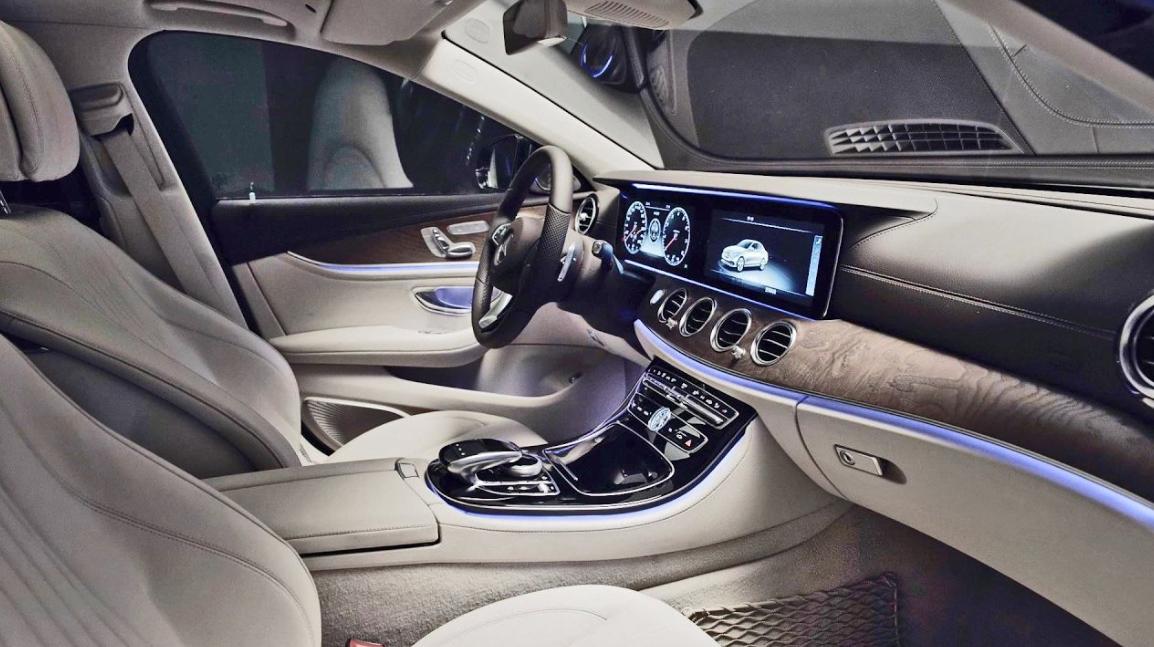 Mercedes E 2023 Interior