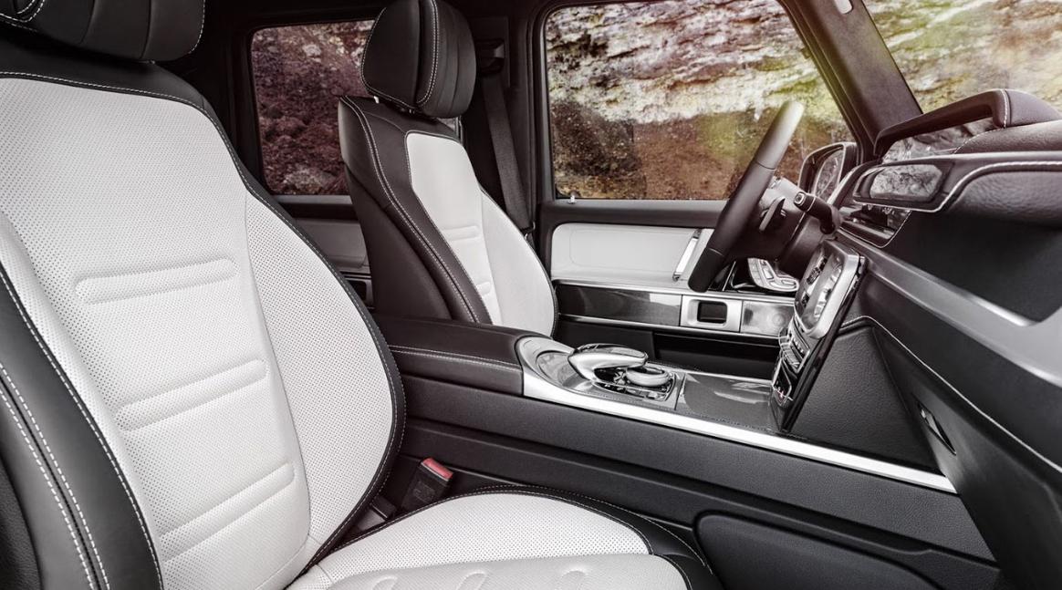 Mercedes SUV 2023 Interior