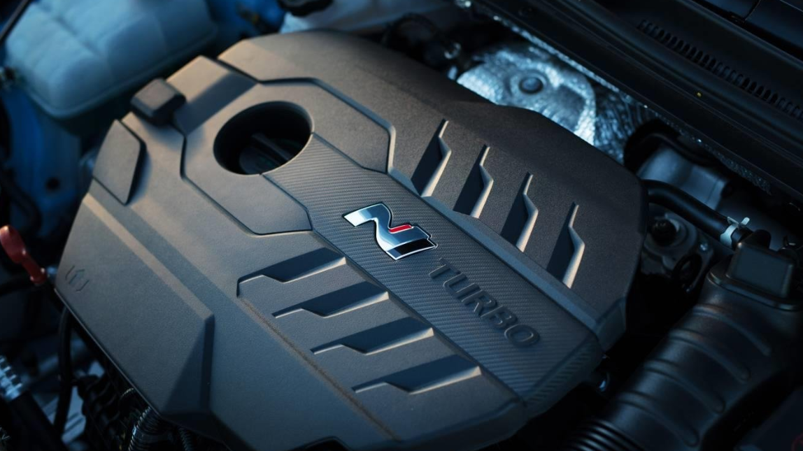 2022 Hyundai Kona N Engine
