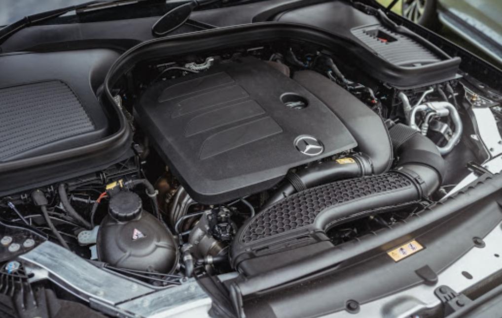 2022 Mercedes GLC 300 Engine