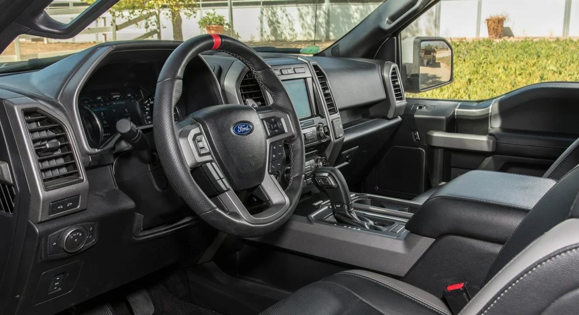 2023 Ford F150 Interior