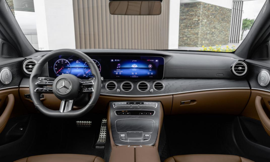 Mercedes E 2022 Interior