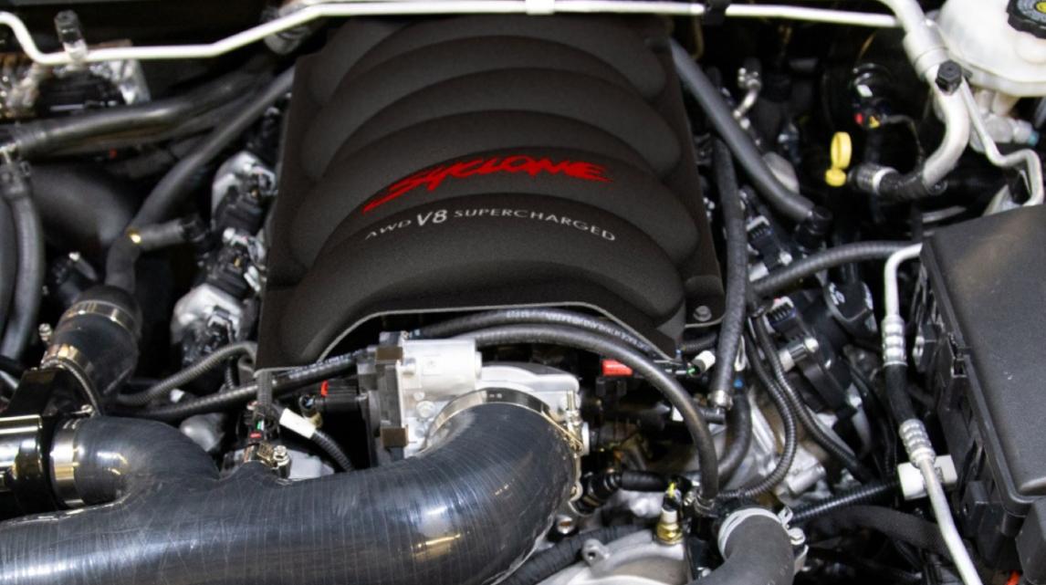 2023 GMC Hummer Engine