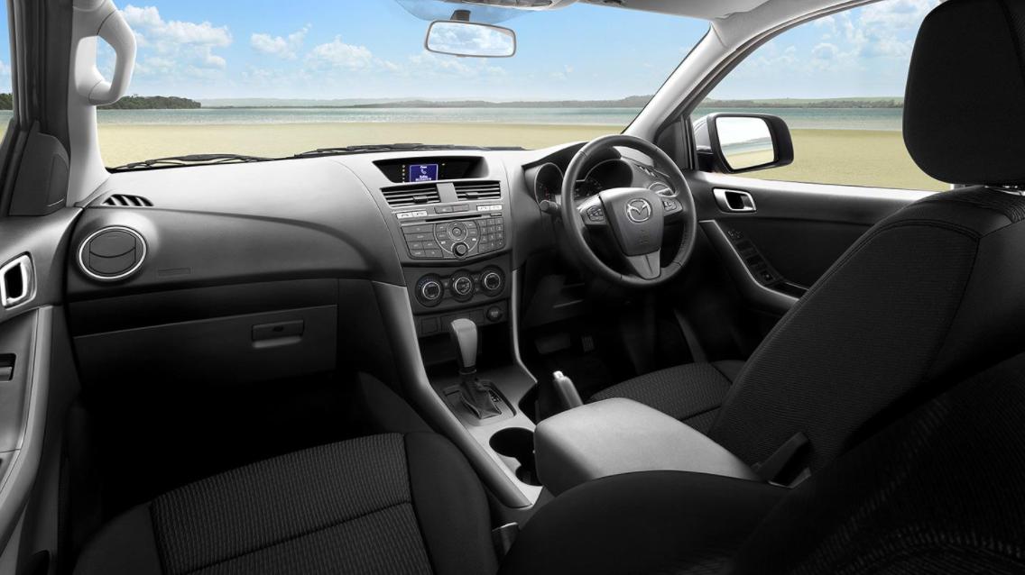 2022 Mazda BT50 Interior