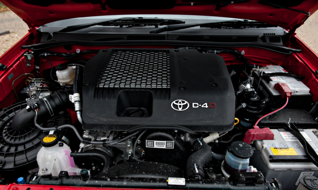 2023 Toyota Hilux Engine