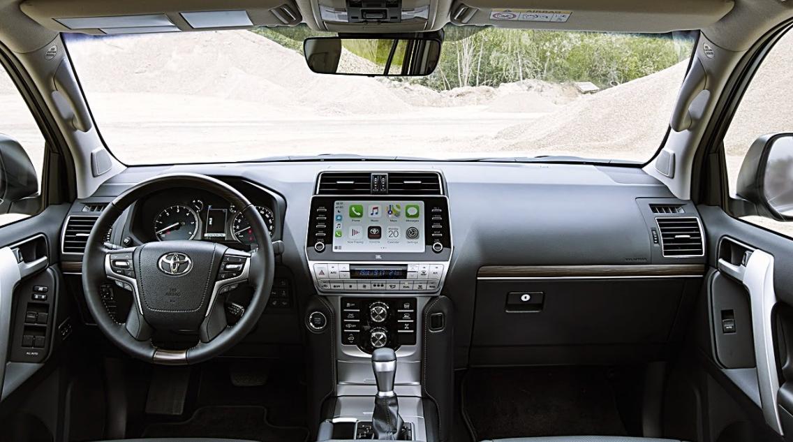 2023 Toyota Prado Interior