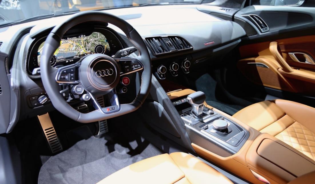 2022 Audi R8 Interior