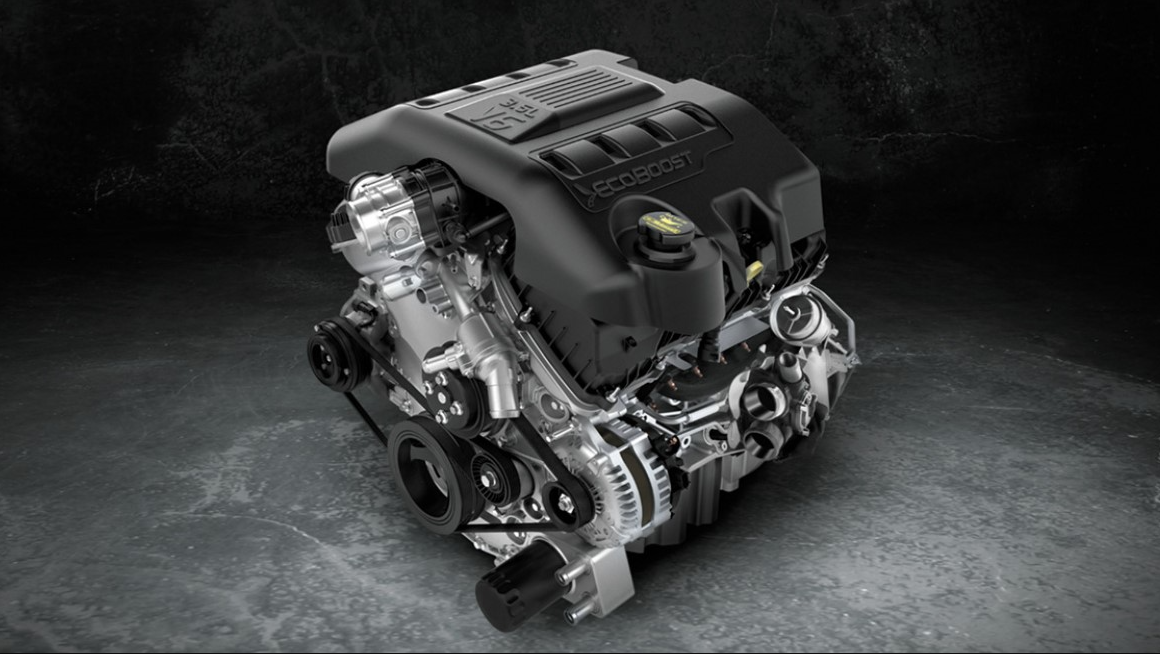 2022 Ford Explorer Engine