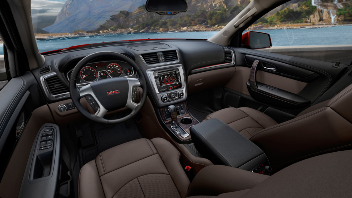 2022 GMC Canyon Denali Interior