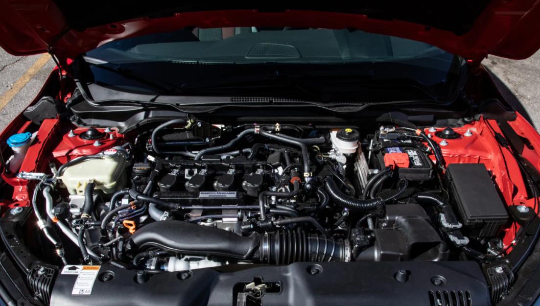 2022 Honda Civic Si Engine