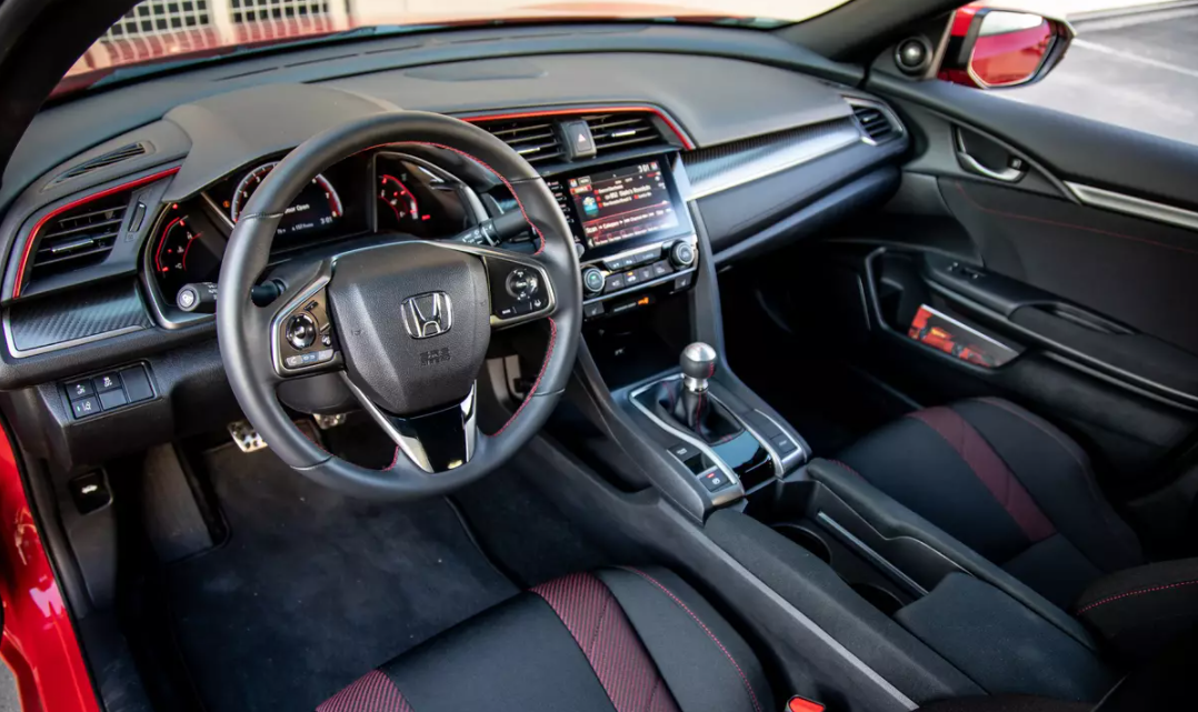 2022 Honda Civic Si Interior