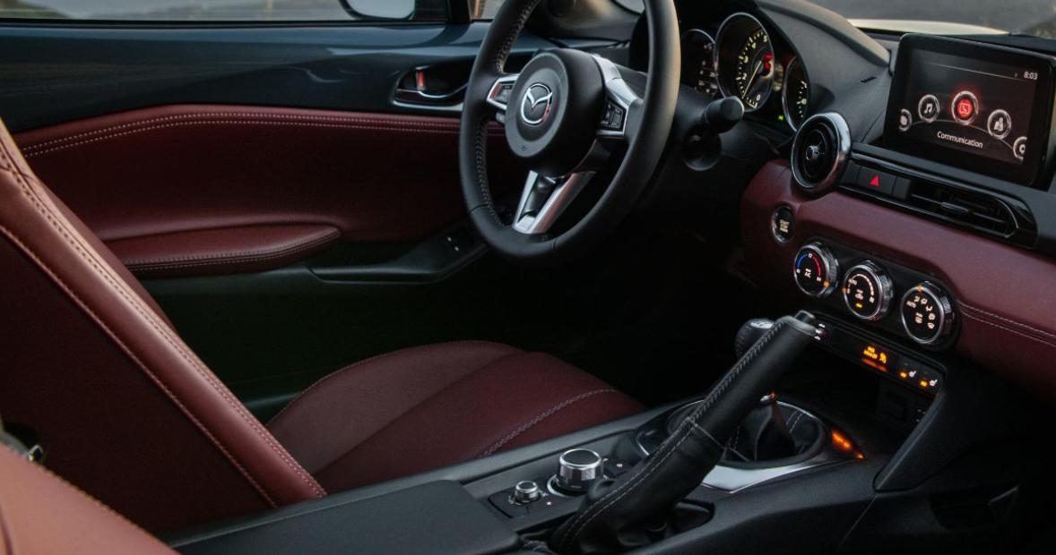 2022 Mazda MX5 Interior