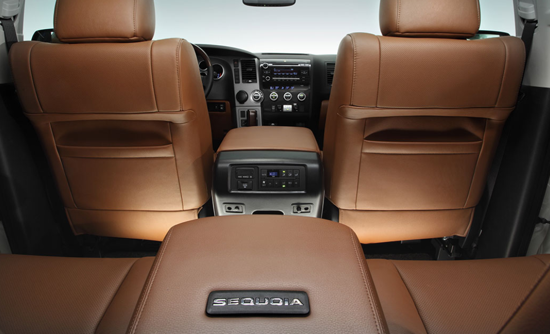 2022 Toyota Sequoia Interior