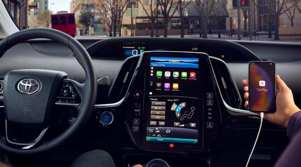 2023 Toyota Prius Interior