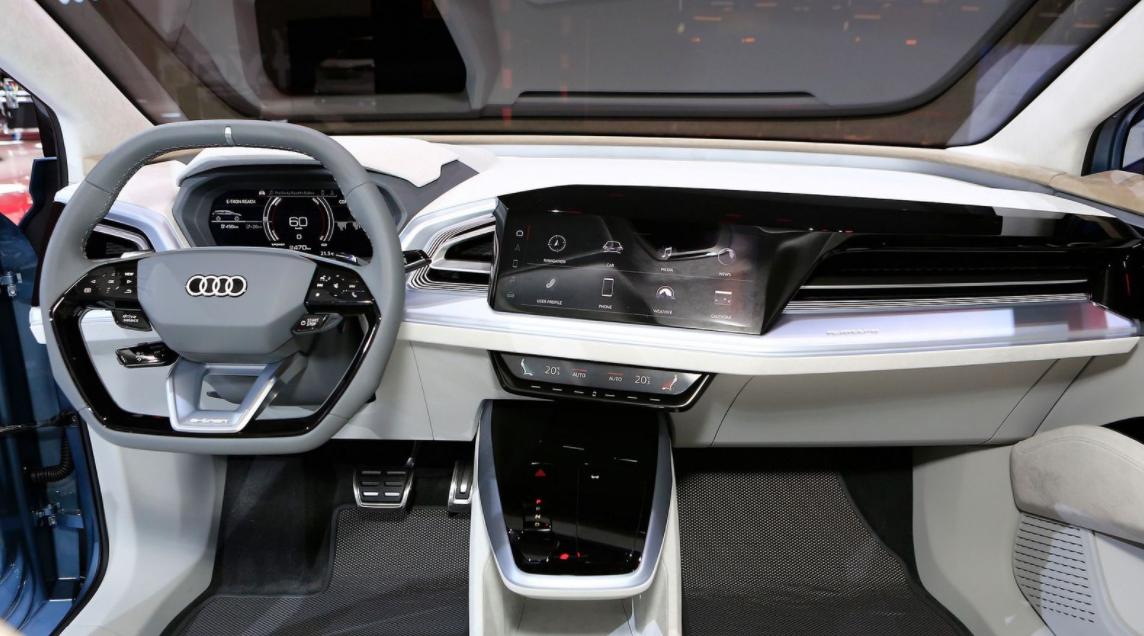 Audi Q4 2022 Interior