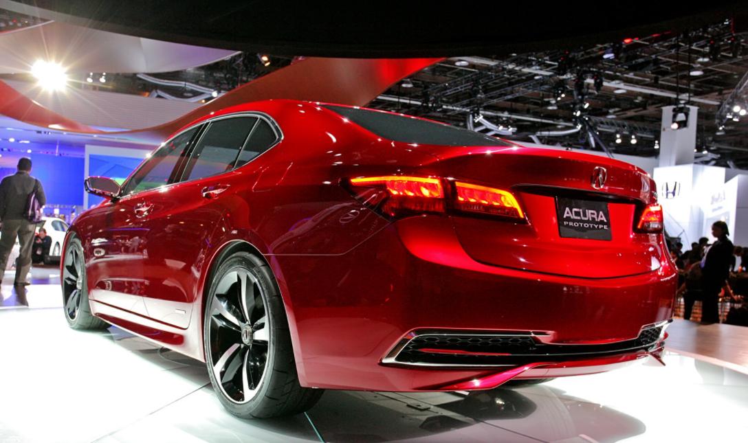 2022 Acura TLX Engine