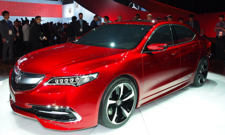 2022 Acura TLX Exterior