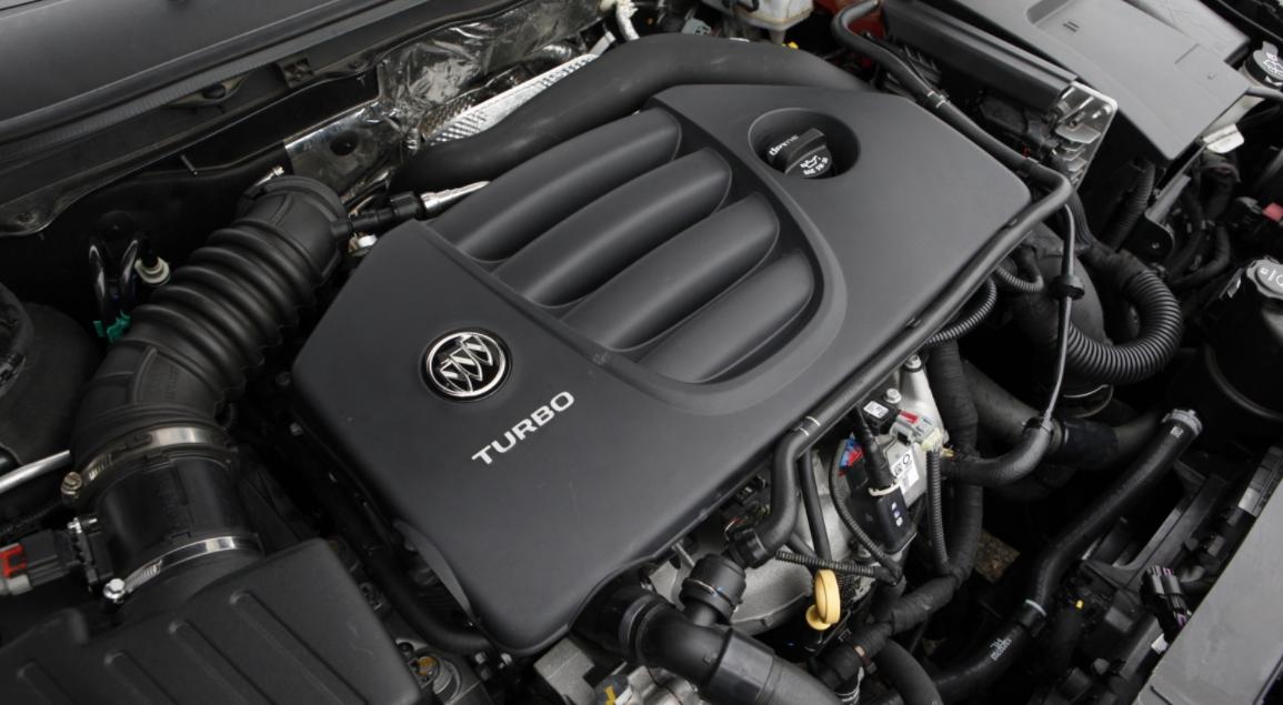 2022 Buick Regal Engine
