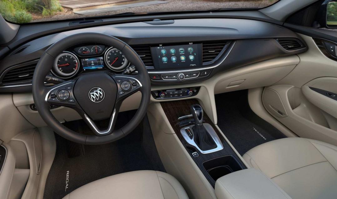 2022 Buick Regal Interior