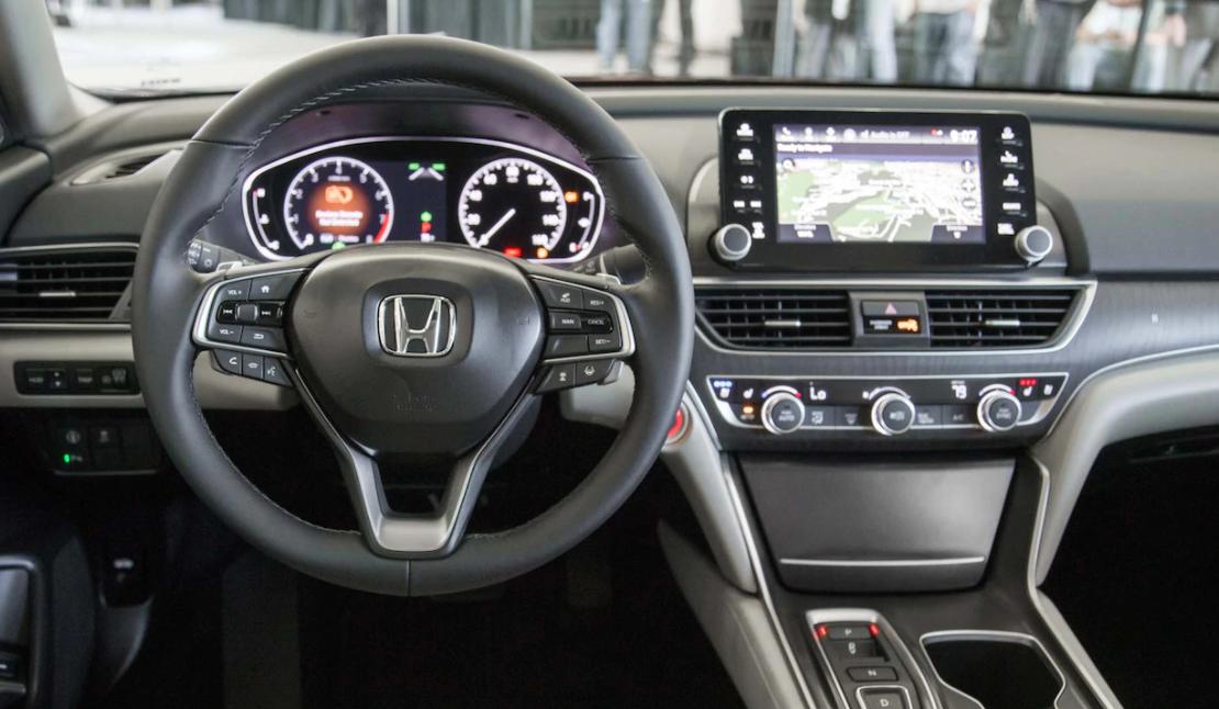 2022 Honda Accord Interior