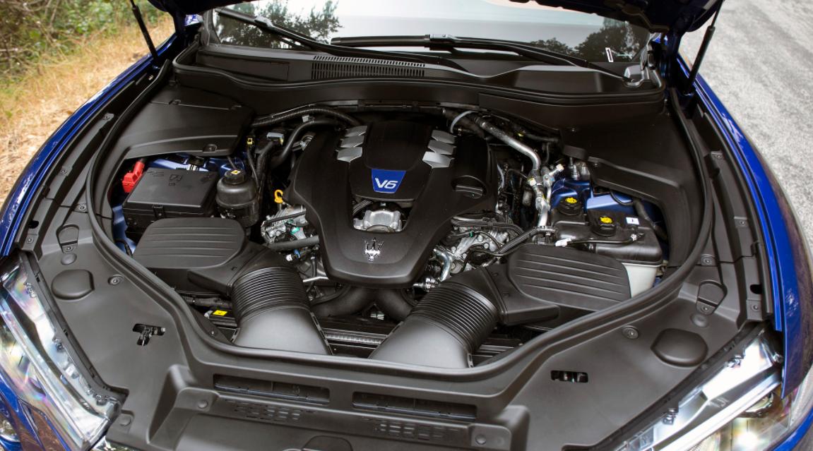 2022 Maserati Levante SUV Engine
