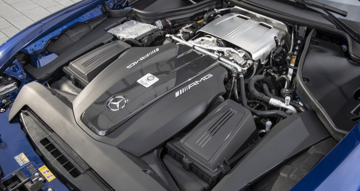 2022 Mercedes AMG GT Engine