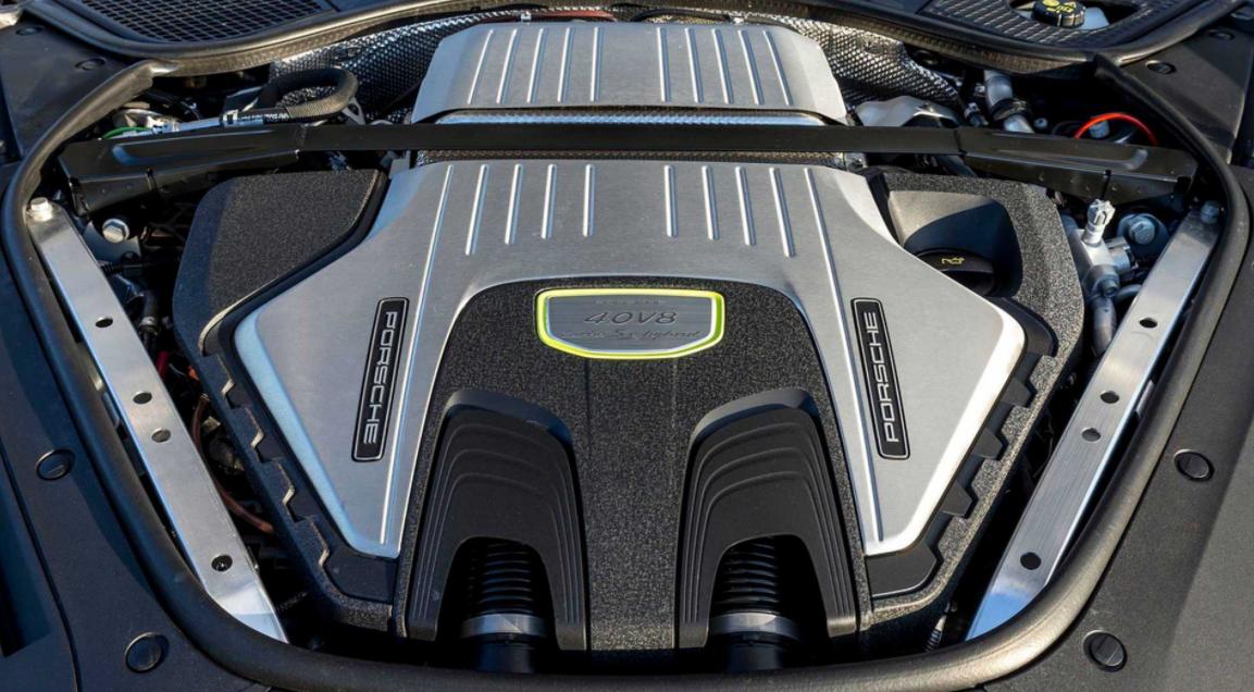2022 Porsche Panamera Engine