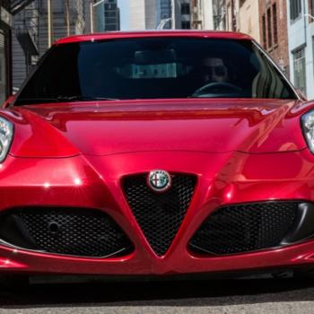 2022 Alfa Romeo 4C Exterior