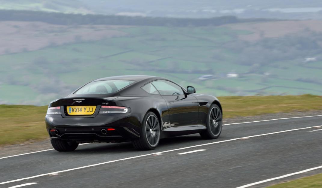 2022 Aston Martin DB9 Carbon Engine