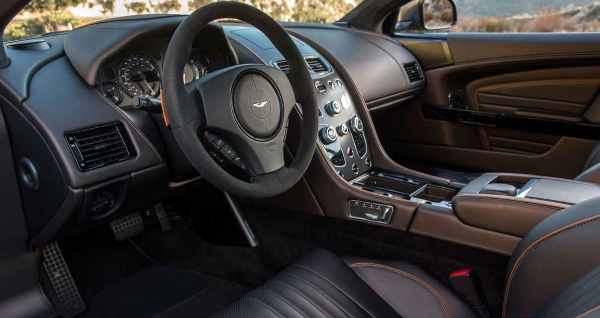 2022 Aston Martin DB9 Carbon Interior