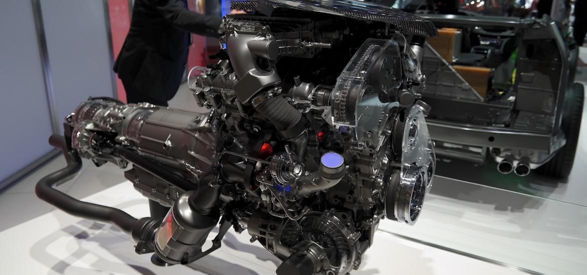 2022 Cadillac CT6 Engine