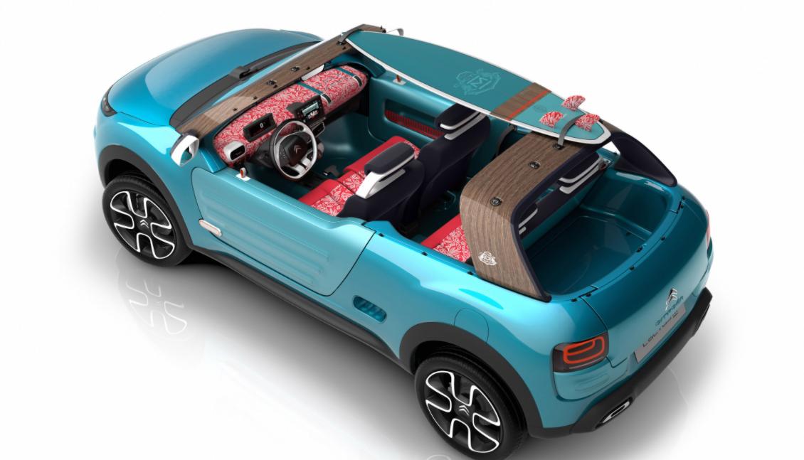2022 Citroen Cactus M Concept Interior
