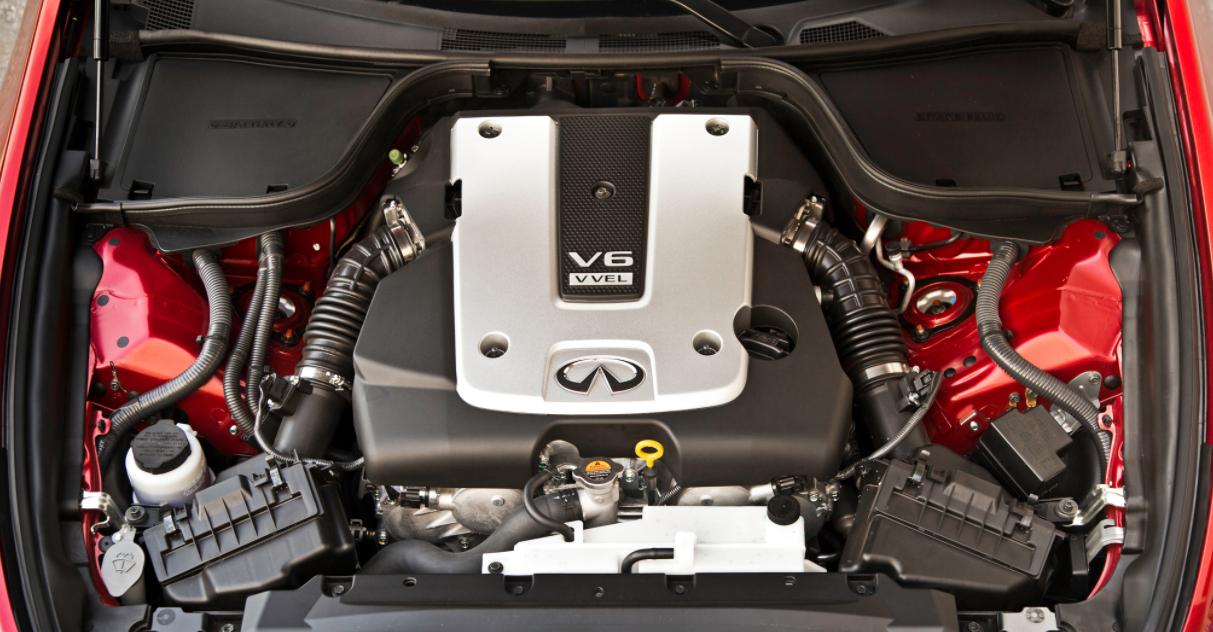 2022 Infiniti Q60 Engine